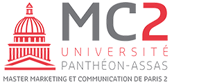 Logo du Master Marketing et Communication de Paris 2