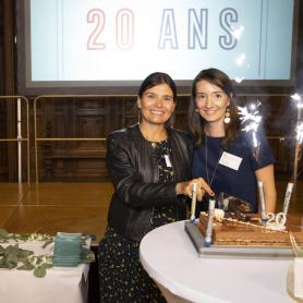 Photo des 20 ans du MC2